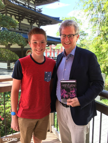 Ridley Pearson Interview: Details about New Kingdom Keepers Book
