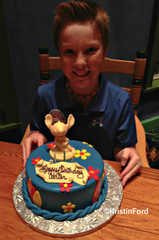 Disney World Carter Stitch Cake