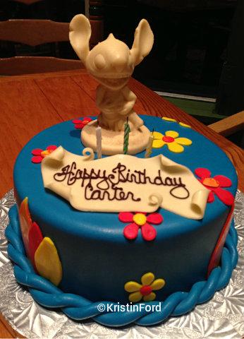 Disney World Stitch Cake Jpg