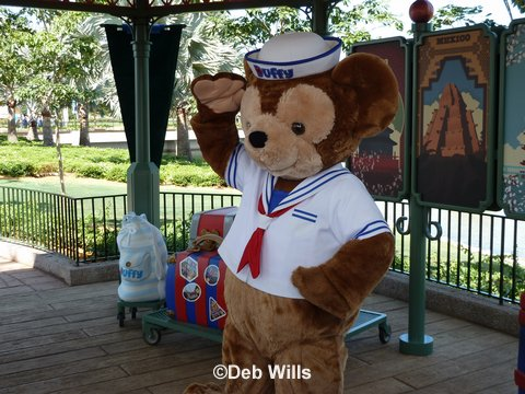 Well Miss Duffy The Disney Bear When Meet And Greets At Walt