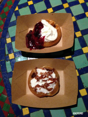 Epcot International Food & Wine Festival Belgium Waffles