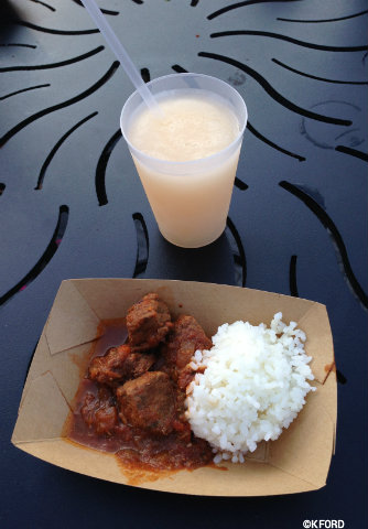 Epcot International Food & Wine Festival Braised Beef Lemonade