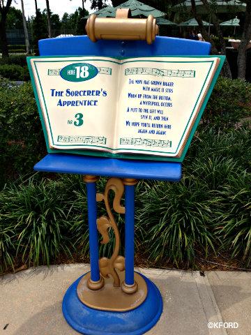 Fantasia Gardens At Walt Disney World Offers Miniature