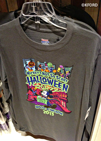 Walt Disney World Halloween T Shirts.A Family Touring Plan For Mickey S Not So Scary Halloween Party 2013