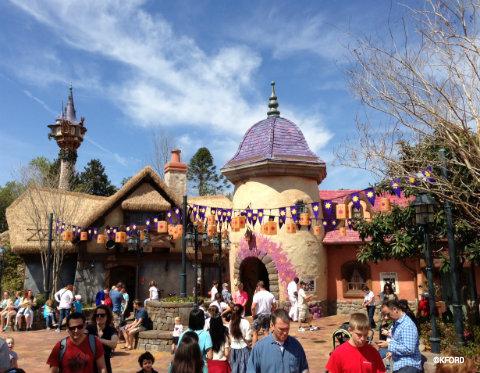 New Rapunzel Themed Restrooms Open At Disney World S Magic Kingdom Allears Net