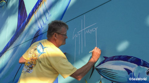 seaworld-orlando-guy-harvey-mako-shark-mural-signing.jpg
