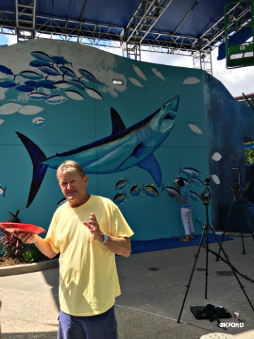 Artist and conservationist Guy Harvey partners with SeaWorld