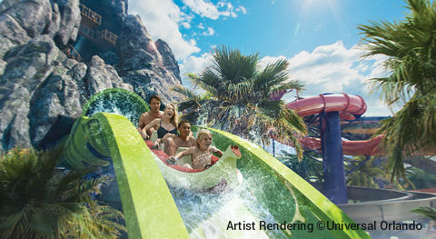 Universal Orlando Volcano Bay Water Coaster Jpg