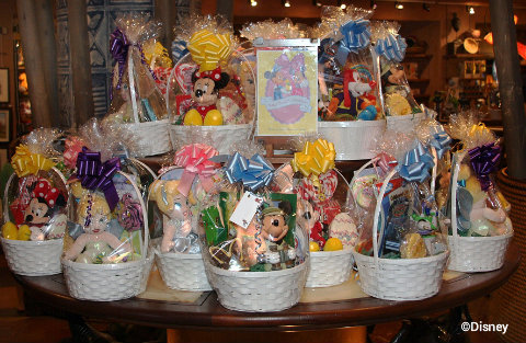 Making magical easter baskets at walt disney world a mom and the walt disney world easter basketsg negle