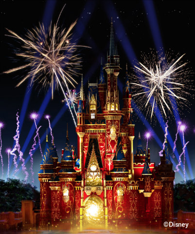 Everything You Need To Know About New Happily Ever After Fireworks
