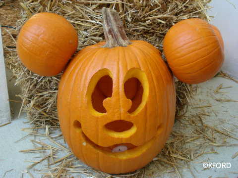Free pumpkin templates allow families to carve Disney ...