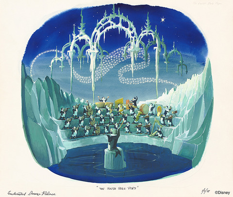 Marc Davis' Enchanted Snow Palace
