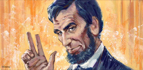 Artist Rendering of Mr. Lincoln