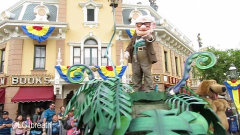 Pixar Play Parade UP