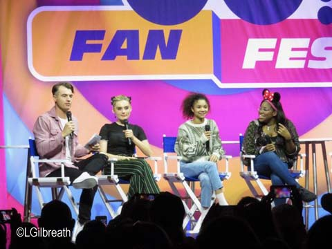 Disney Channel ZOMBIES panel discussion