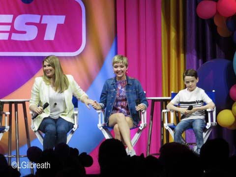 Disney Channel Freaky Friday panel discussion