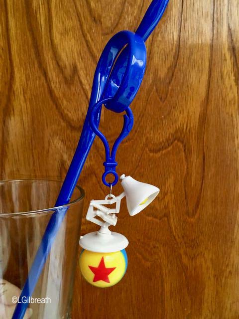 Pixar Fest Luxo Jr Lamp Ball straw