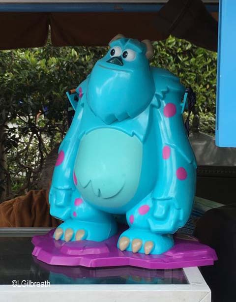 Sulley popcorn bucket