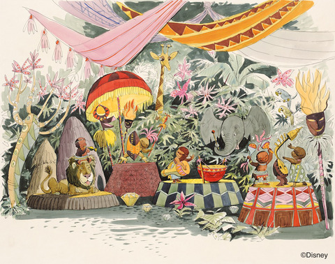 Artist Rendering its a small world