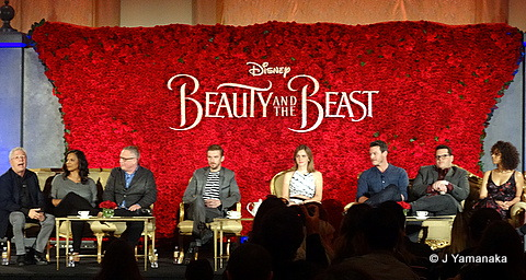Beauty and the Beast in Theaters Now; News from the Press Junket!