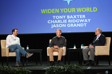 Imagineer Jason Grandt, Disney Legend Tony Baxter, Disney Legend Charlie Ridgeway