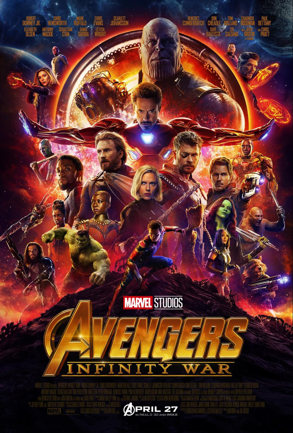 Avengers infinity war press junket salute to all things disney infinitywar5aabd55fed5fag ccuart Images