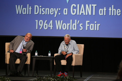 Disney Legends Marty Sklar and Bob Gurr