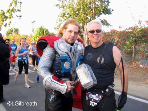 2014 Inaugural Avengers Super Heroes Half Marathon