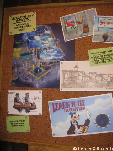 Goofy's Sky School at Disney's California Adventure
