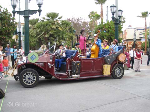 Buena Vista Street and Cars Land