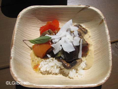DCA Food and Wine Festival Thai Curry