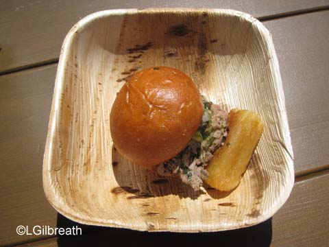 DCA Food and Wine Festival Tenderloin Slider