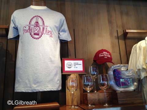 DCA Food and Wine Festival merchandise