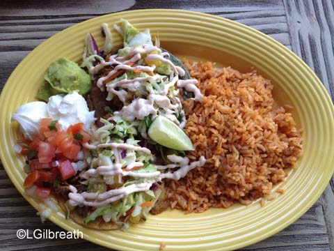 DCA Food and Wine Festival Pork Tostadas