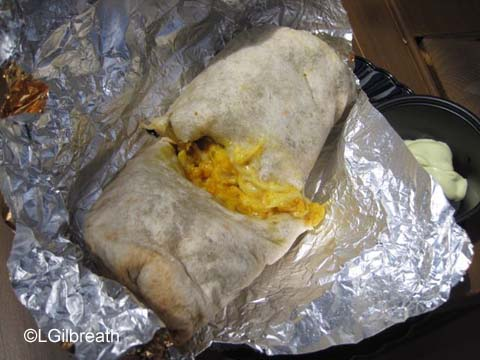 DCA Food and Wine Festival Chile and Cauliflower Burrito