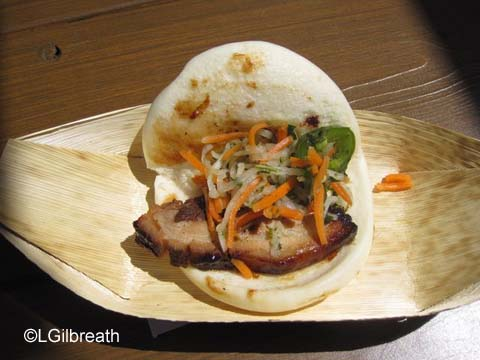 DCA Food and Wine Festival Pork Belly Bao Taco