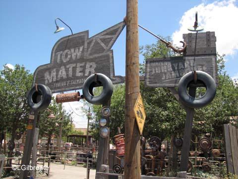 Mater's Junkyard  Jamboree    Cars Land  Disney's California Adventure Mater's Junkyard Jamboree Entrance
