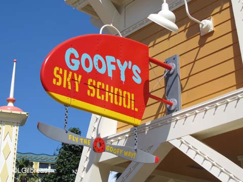 Goofy's Fly School
