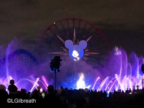 World of Color Celebrate Neil and Mickey