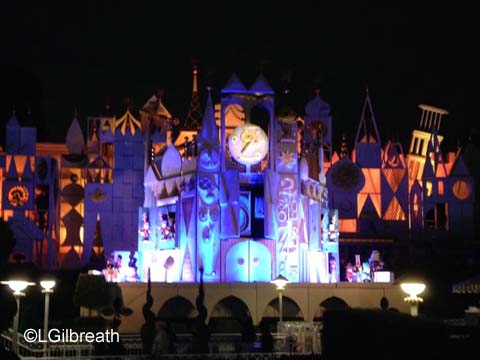 Disneyland 24 hour event its a small world