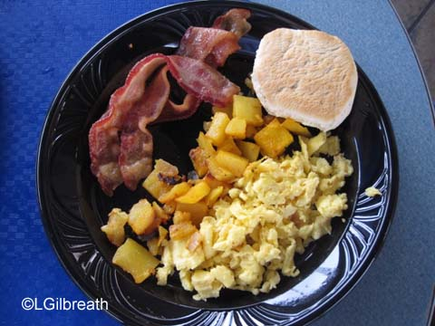 Tomorrowland  Terrace  Breakfast Platter