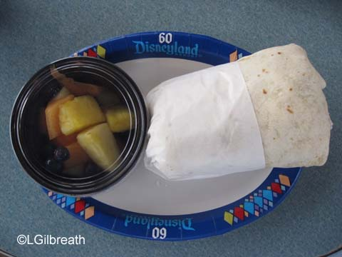 Tomorrowland  Terrace  Breakfast Burrito