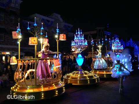 Paint the Night princesses