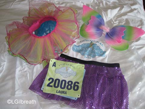 Inaugural Tinker Bell Half Marathon - January 29, 2012