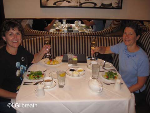 Disneyland Hotel Afternoon Tea