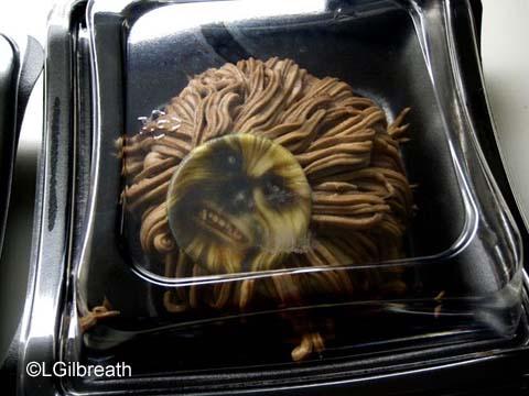 Chewbacca cheesecake
