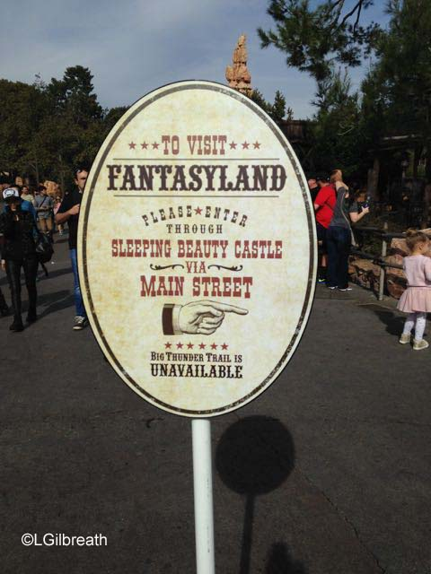 Frontierland closed