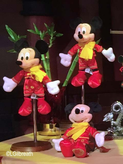 Lunar New Year 2018 Shanghai Mickey plush