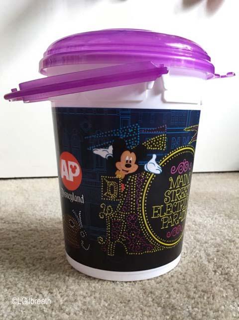 Disneyland AP Popcorn Bucket