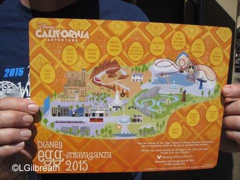 Disneyland Egg-stravaganza, 2015